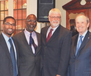 Brian with Judge Leo and David Bowman, and Ken Whipple, host